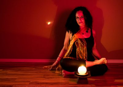 This pose is called Agni Stambhasana, or fire logs pose. It may be a hip opener, but as the name it is a bit fiery in sensation.