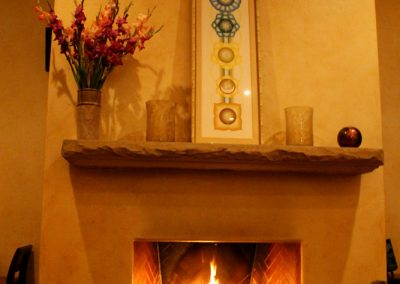 This Fireplace has been my home for many trips up to the White Lotus.