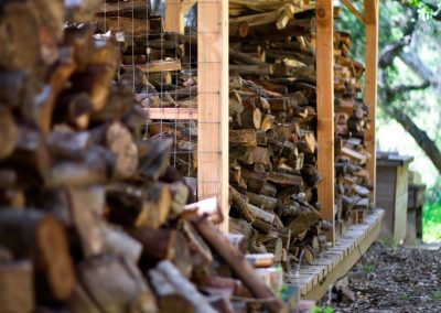 I have always found this wood pile to be inspiringly beautiful.